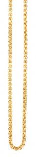 Traumfänger Kette golden SC06G 90cm