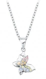 Prinzessin Lillifee Silberkette mit Schmetterling-Anhänger 2027900