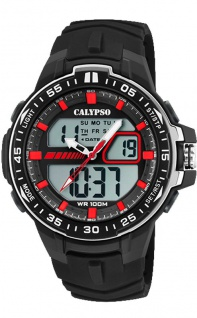 Calypso Herren Armbanduhr schwarz K5766_4