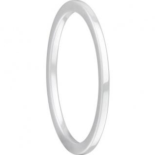 BERING Arctic Symphony Ring Keramik weiß