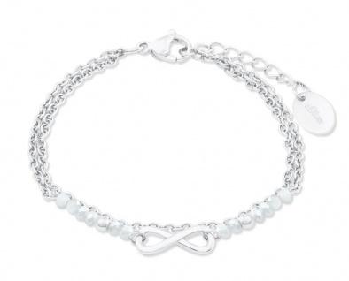 S.Oliver Damen Armband 2022717 Infinity