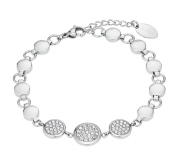 S.Oliver Edelstahl Armband mit Swarovski Elements 2026174