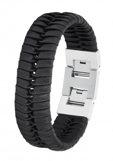 S.Oliver Herren Leder Armband 2027439