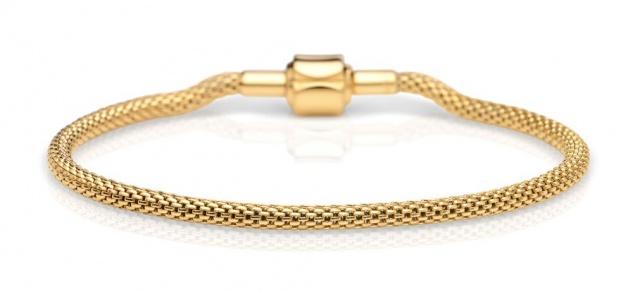 Bering Milanaise Armband vergoldet 613-20