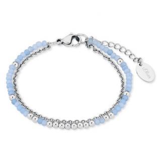 S.Oliver Damen Armband 2018343 mit Glassteinchen