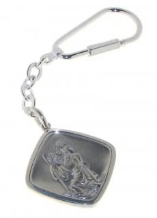 Schlüsselanhänger Christopherus 925/000 Sterling Silber