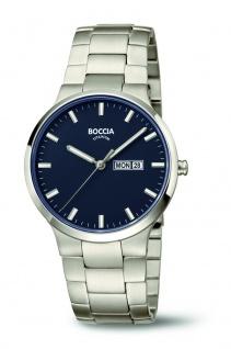 Boccia Herren Titan Uhr 3638-02