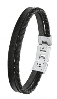 S.Oliver Herren Leder Armband 2027411