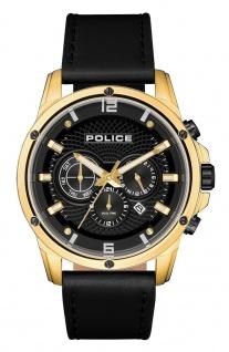 Police Herren Multifunktionsuhr PL15525JSG.02