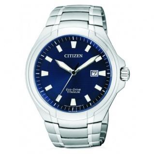 Citizen Eco-Drive Herrenuhr Titanium BM7430-89L