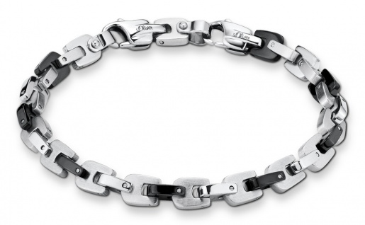 S.Oliver Herren Edelstahl Armband 2026006