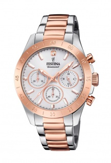 Festina Damen Chronograph Diamond F20398/1