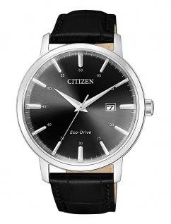 Citizen Herrenuhr EcoDrive mit Lederband BM7460-11E