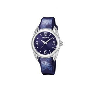 Calypso Armbanduhr Blumen K5734/5