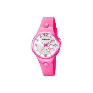 Calypso Armbanduhr pink K5745/3