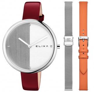ELIXA Damenuhr Finesse E106-L619-K1 mit Wechsel-Armbändern