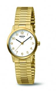 Boccia Damenuhr Titan vergoldet 3318-02