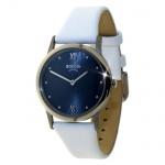 Boccia Damen Titan Uhr Lederband 3265-04