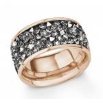 S.Oliver Edelstahl Ring rosévergoldet 2015145