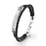 S.Oliver Herren Leder Armband 2020903