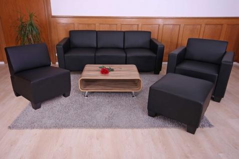 Modular Sofa-System Garnitur Lyon 3-1-1-1 schwarz - Vorschau 4