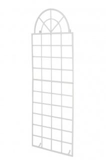 Wandrankhilfe CP371, Rankhilfe Rankgitter, Eisen ~ 180cm, weiß