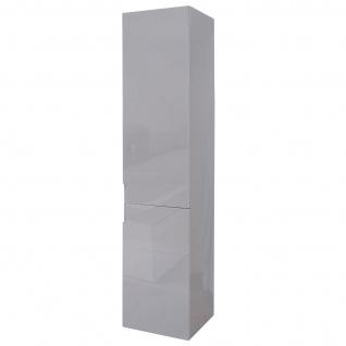 Hängeschrank HWC-B19, Midischrank Hochschrank Badezimmer Badmöbel, hochglanz 150x30cm - Vorschau 4