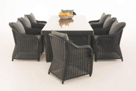 Garten-Garnitur CP065 XL, Sitzgruppe Lounge-Garnitur, Poly-Rattan - Vorschau 4