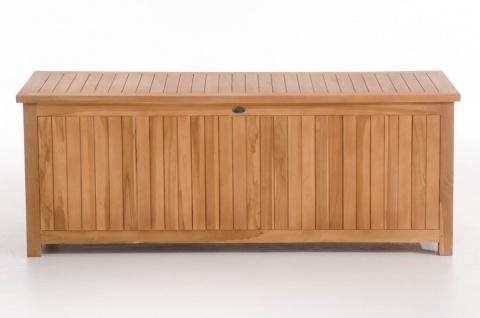 Gartenbox CP453, Gartentruhe Kissenbox 160x62x60 teak - Vorschau 4