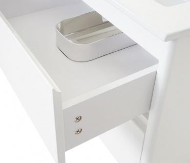 Waschbecken + Unterschrank HWC-B19, Waschbecken Waschtisch Badezimmer, hochglanz 50x60cm - Vorschau 5
