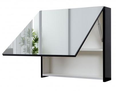 Badezimmerset HWC-C11, Waschtisch Spiegelschrank Hängeschrank, hochglanz - Vorschau 3