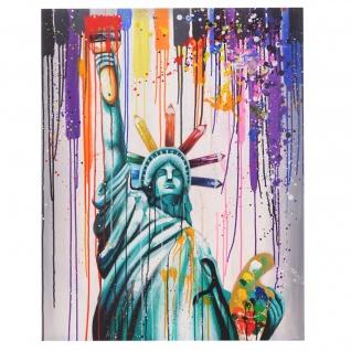 Ölgemälde Freiheitsstatue, 100% handgemalt, 100x80cm