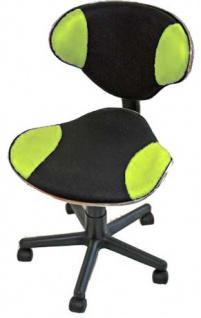 Bürostuhl Drehstuhl Genua, Netz, ergonomische Form grün