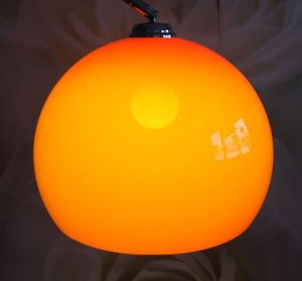 Schirm f. Bogenlampe LOUNGE DEAL II Ø 40cm orange - Vorschau 4