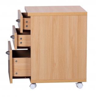 Rollcontainer A092, Rollschrank Bürocontainer, 60x48x40cm - Vorschau 3