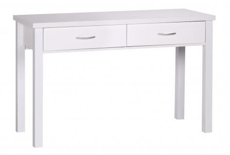 Schreibtisch A094, Bürotisch, 2 Schubladen, 120x77x50cm