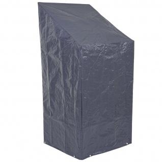 Abdeckplane Abdeckhaube Schutzplane Schutzhülle für Stühle, anthrazit 150/110x70x70cm