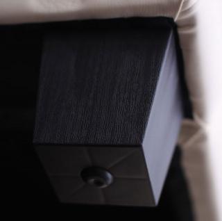 Sessel Lounge-Sessel Lille Kunstleder creme/coffee - Vorschau 3