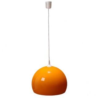 Reality|Trio Deckenleuchte Pendelleuchte Lampe Lounge Deal 40cm Schirm orange