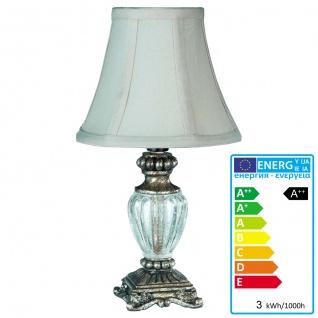 Reality|Trio LED-Tischlampe Tischleuchte, 3W-LED, EEK A++, antik