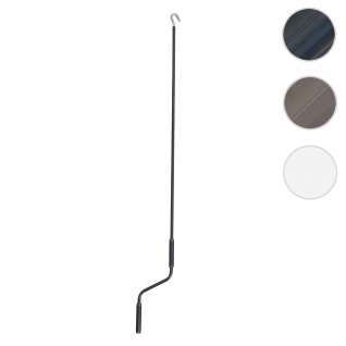 Handkurbel für Markisen, Markisenkurbel Kurbel, 150cm ~ anthrazit