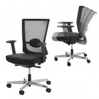 Bürostuhl MERRYFAIR Forte, Schreibtischstuhl, Sliding-Funktion ergonomisch ~ schwarz