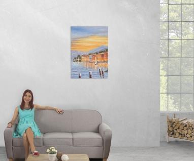 Ölgemälde Küste, 100% handgemaltes Wandbild XL, 70x50cm - Vorschau 5