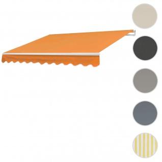 Bezug für Markise T792, Gelenkarmmarkise Ersatzbezug Sonnenschutz, 5x3m ~ Polyester terrakotta