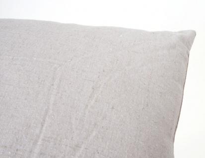 Deko-Kissen Paris, Sofakissen Zierkissen mit Füllung, braun 45x45cm - Vorschau 4