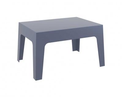Gartentisch CP203, Kindertisch Beistelltisch Couchtisch ~ dunkelgrau