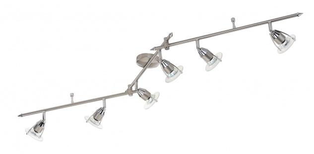Leuchten Direkt ECO Deckenleuchte Deckenlampe Balkenleuchte EEK D inkl. LM 6-flammig