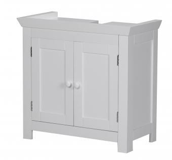 Waschbeckenunterschrank A029, Badezimmerschrank Unterschrank Badschrank Schrank, 55, 5x57x30cm