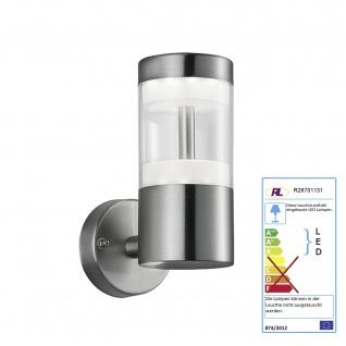 Reality|Trio LED-Wandleuchte RL125, Außenleuchte, 7W EEK A ~ 18, 5cm
