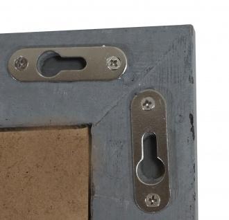 Bilderrahmen T249, Fotorahmen Holzrahmen Wand-Rahmen, 26x36cm Shabby-Look Landhaus ~ grau - Vorschau 5